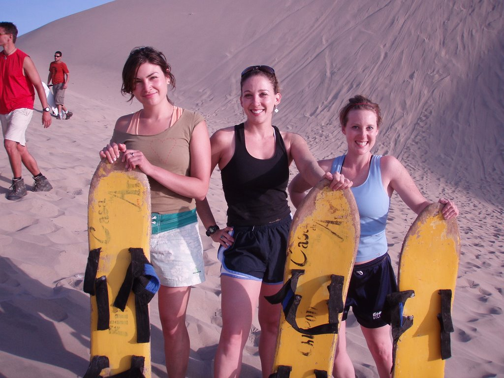 Surfing the Dunes on a Sandboard