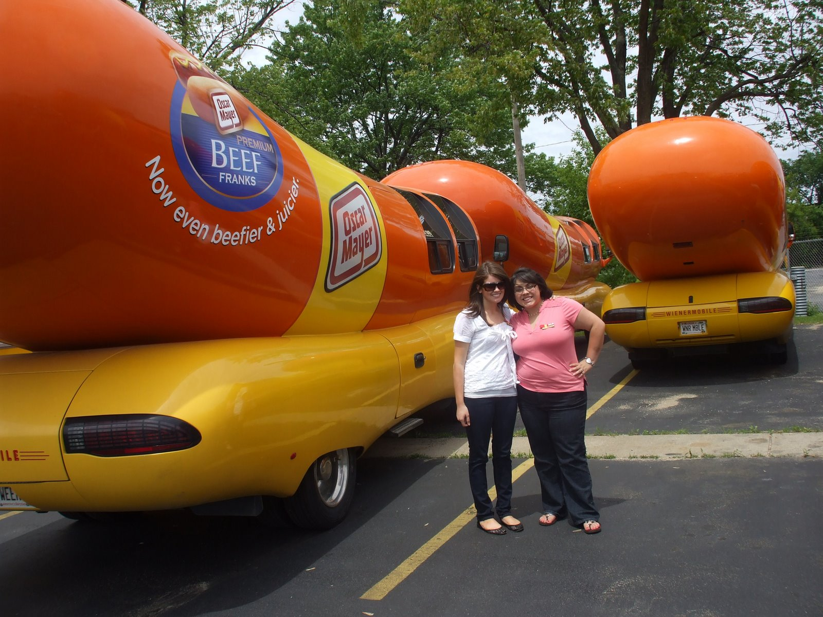 Live from the Wienermobile: How to be a Hot Dogger, too.
