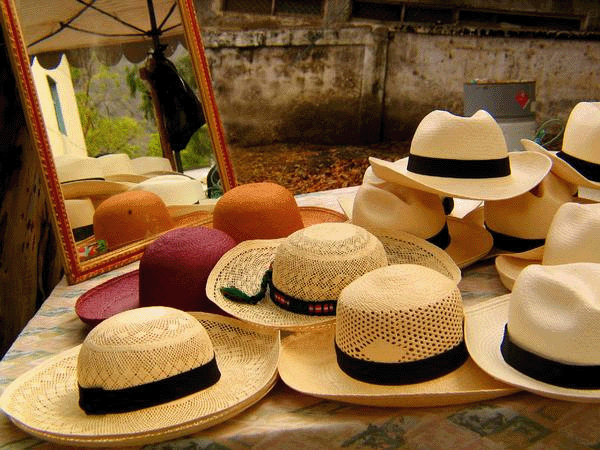 Caps for Sale: Topping It Off in Ecuador