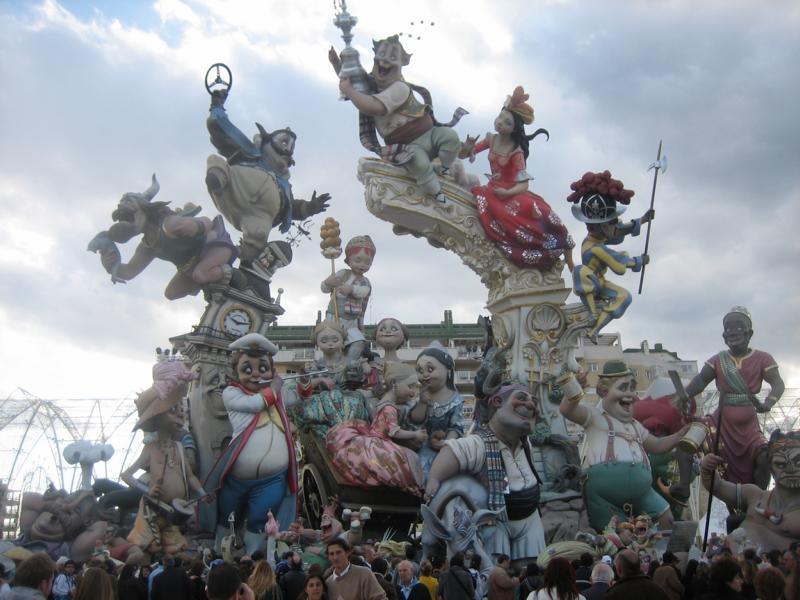 Dispatches from the Road: Las Fallas Festival, Valencia