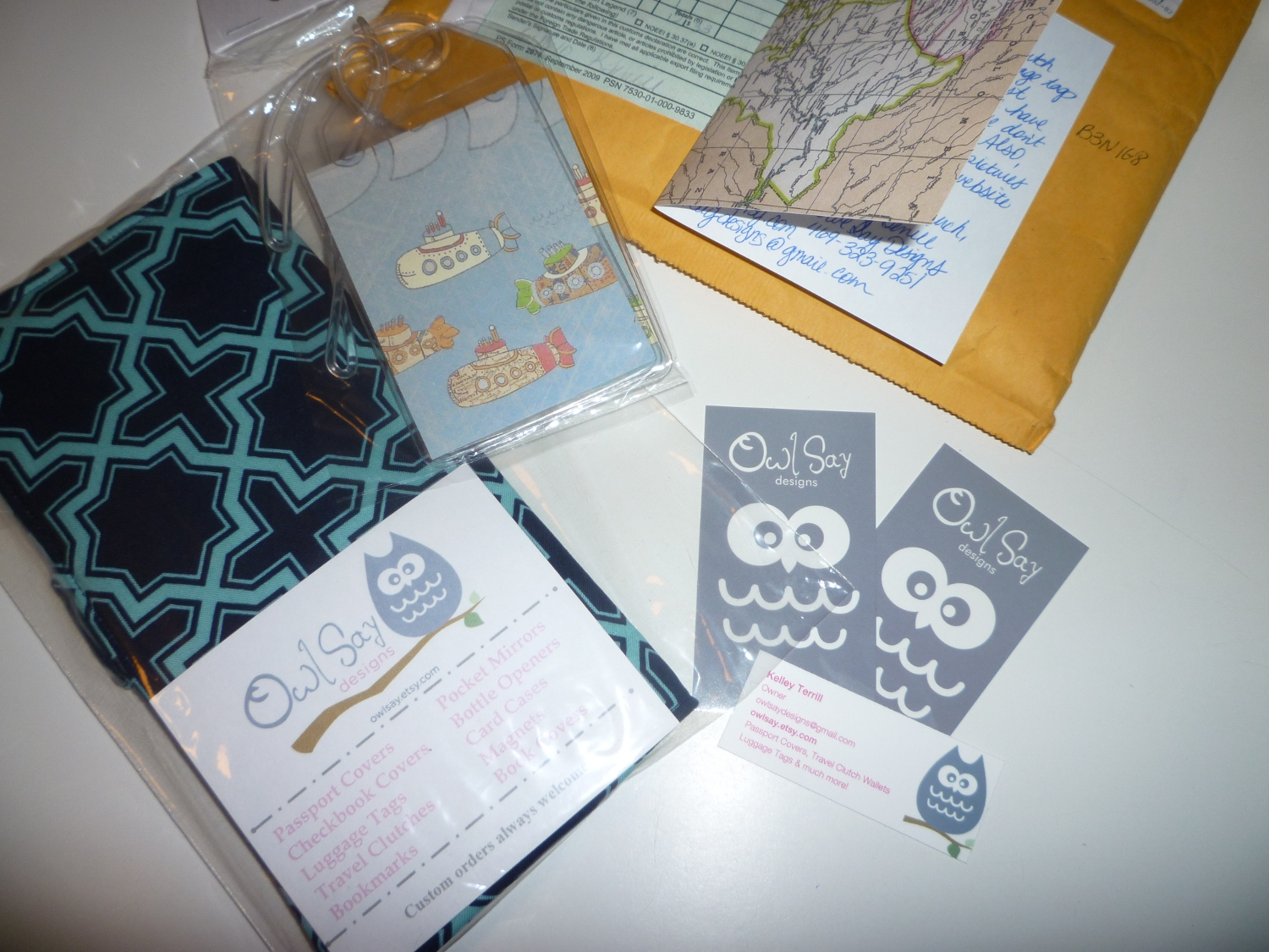 Product Review: Owl Say Fabric Travel Clutch