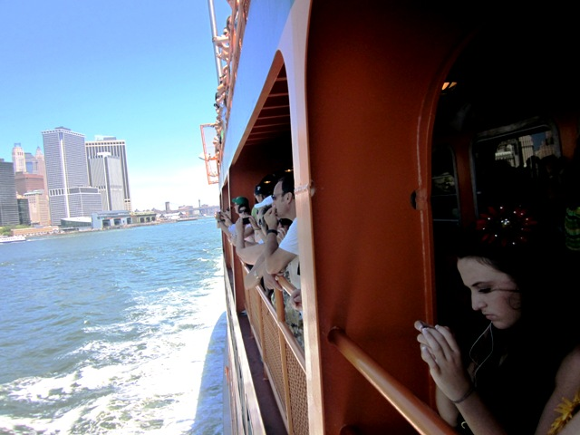 Staten Island Ferry, NYC: See the skyline and harbor on a free boat ride