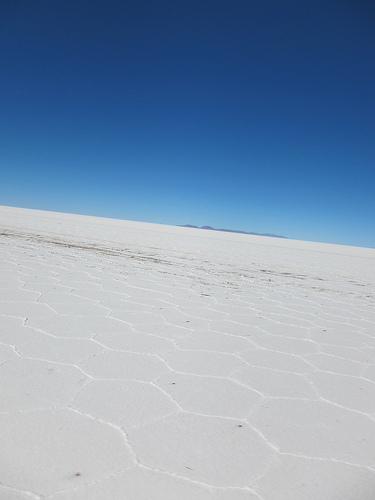 Crossing Bolivia's Salt Flats