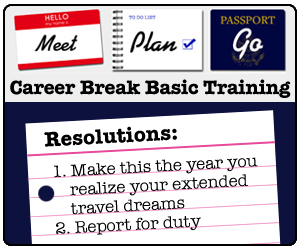 Meet, Plan, Go!'s Career Break Basic Training