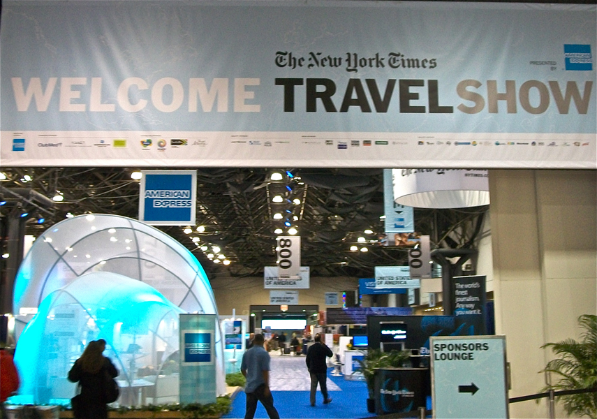The New York Times Travel Show 2011: Saturday Road Map