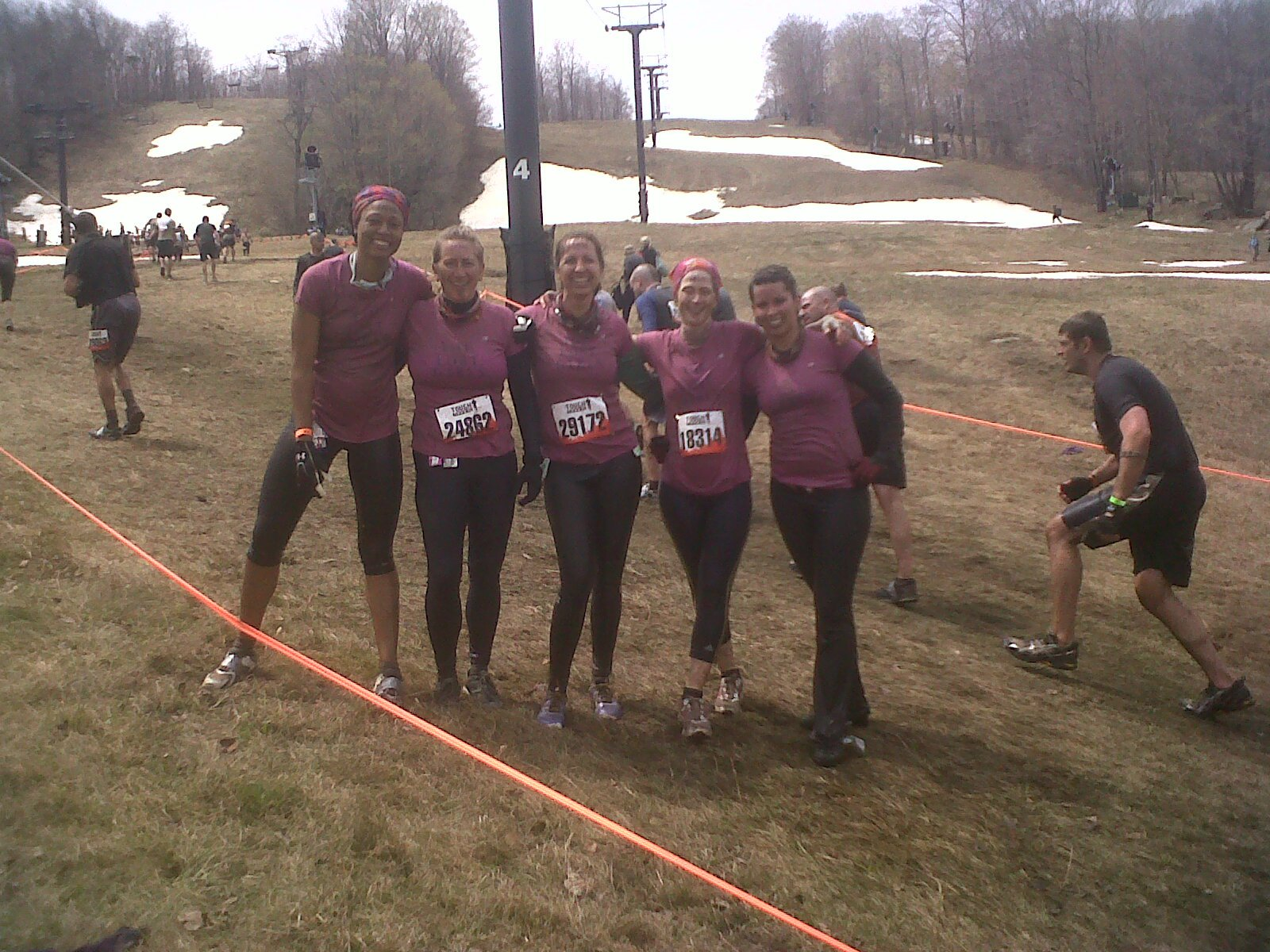 The Lost Girls Races: Tough Mudder Race Day