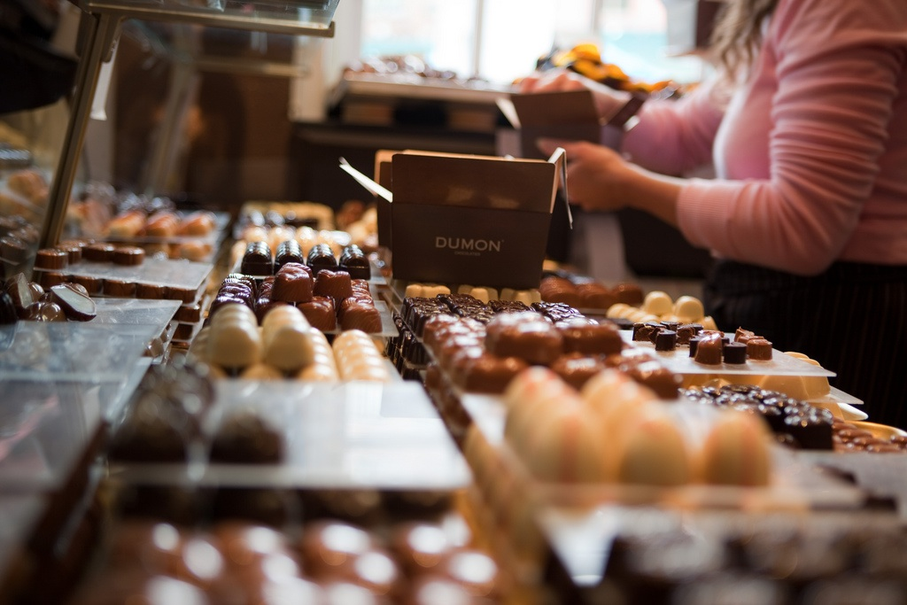 Falling For Chocolate in Bruges