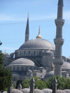 Blue Mosque Exterior