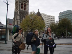 Christchurch travel pack
