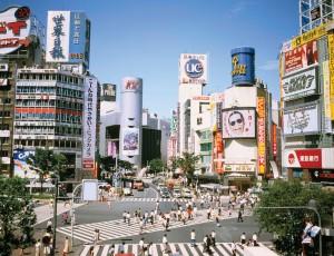 Tokyo's Shiybuya district