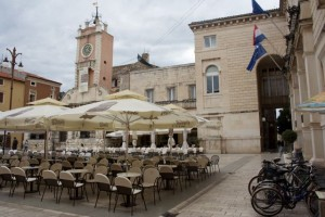Zadar, Croatia's main square