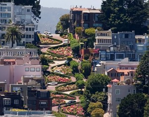 Lombard Street World's Crookedest Street
