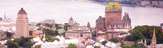 Lost in Canada: Sisters Take Quebec City