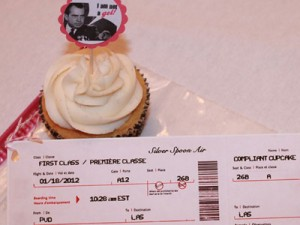 TSA Approved Cupcake