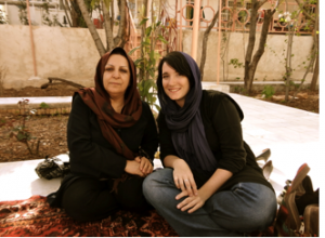 Women traveling in Iran